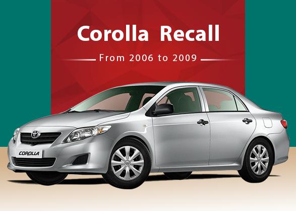 Corolla Recall